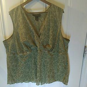 Venezia sleeveless blouse